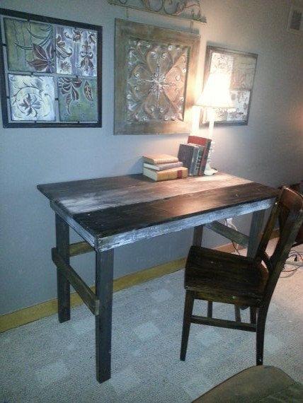 Distressed+Desk+by+Reclaimvintagecharm+on+Etsy,+$250.00