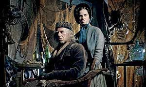 That moment when you realize that the cabby serial killer was Mr. Smallweed in Bleak House, and Judy his daughter is...Molly. @Millie