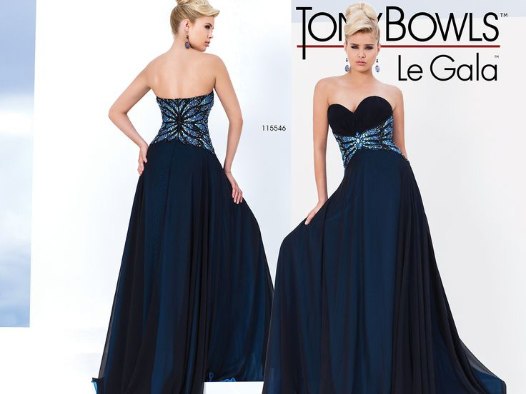 Available at Enchantment Bridal and Formal Gowns, 10 King Street West, Chatham Ontario Chiffon gown
