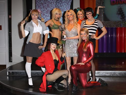 britney spears costumes - Britney Spears Red Jumpsuit Halloween Costume