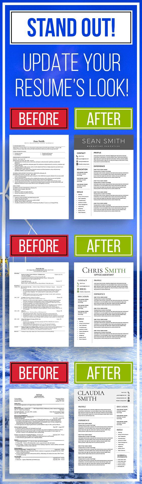 Update your Resume's Look! resume update, post resume