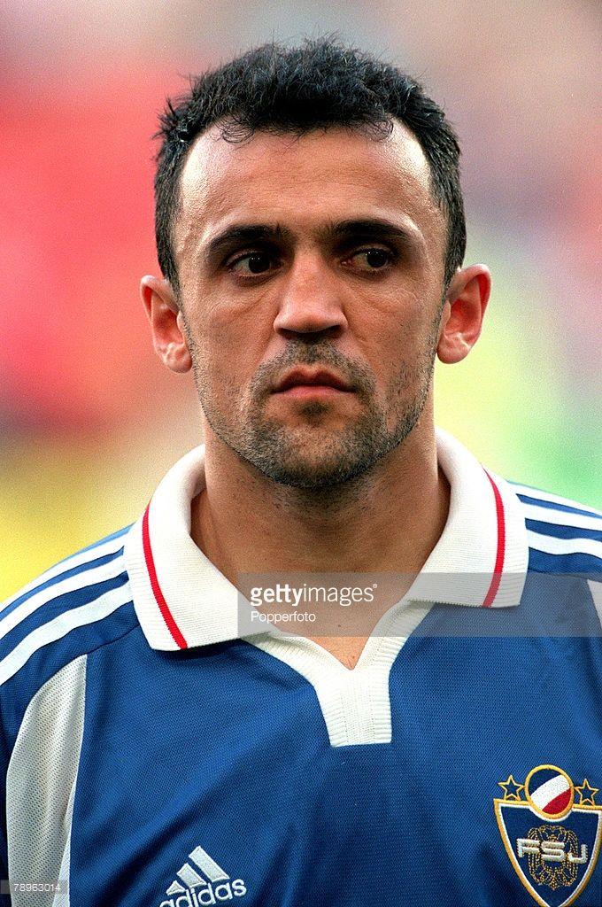 European Championship, (EURO 2000), Liege,Norway (0) v Yugoslavia(1), 18th, June, 2000,Ljubinko Drulovic, Yugoslavia