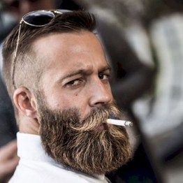 Cool and gentle full beard styles 13