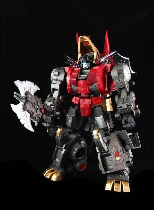 Transformers Fansproject Lost Exo Realm LER-02 Cubrar & Tekour Dinobot Slag #Fansproject