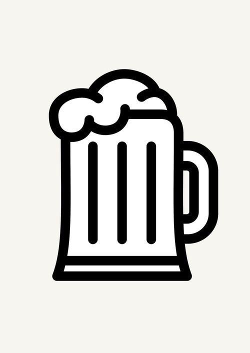 Icon Prints: Drinks Serie by Brigada Creativa, via Behance
