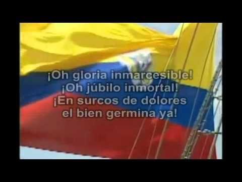 himno nacional completo - colombia