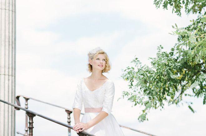 noni noni Brautkleider 2014 | Hochzeitskleid 50er, mit Ärmel (Foto: Le Hai Linh)