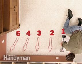 How to stretch your carpet to eliminate lumps