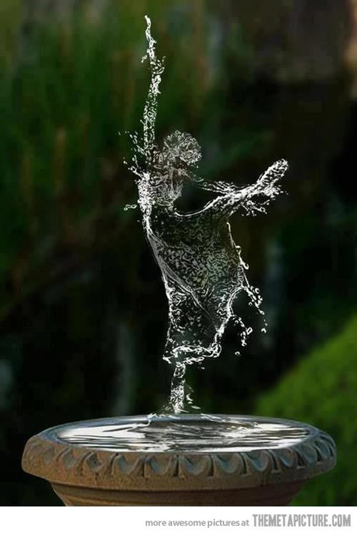 Ballerina Splash…