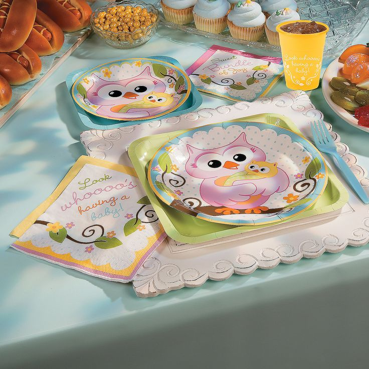 Owl Baby Shower Supplies: 117 Best Images About Baby Shower Ideas On Pinterest