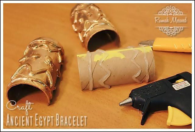 Ancient Egypt Bracelet - DIY -