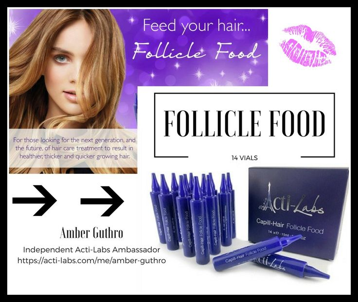 Follicle Food #beauty #actiamber #haircare #hair