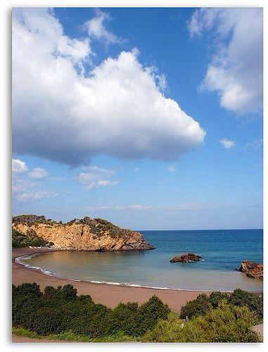 la crique Gouraya a Tipaza 40 km d Alger