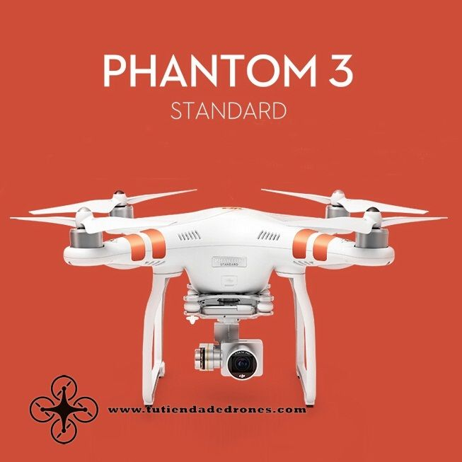 DJI Phantom 3 Standard FPV With 12MP Camera Shoots 2.4K Video RC Quadcopter RTF -- 524€