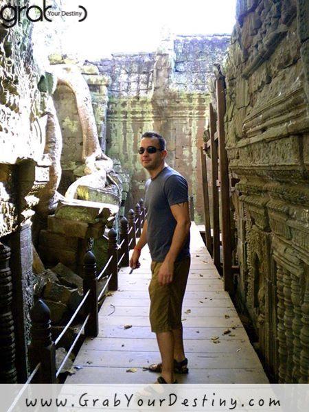 Adventures Exploring Angkor Wat in Cambodia #AngkorWat #GrabYourDestiny #Cambodia #JasonAndMichelleRanaldi #SiemReap #Travel www.GrabYourDestiny.com
