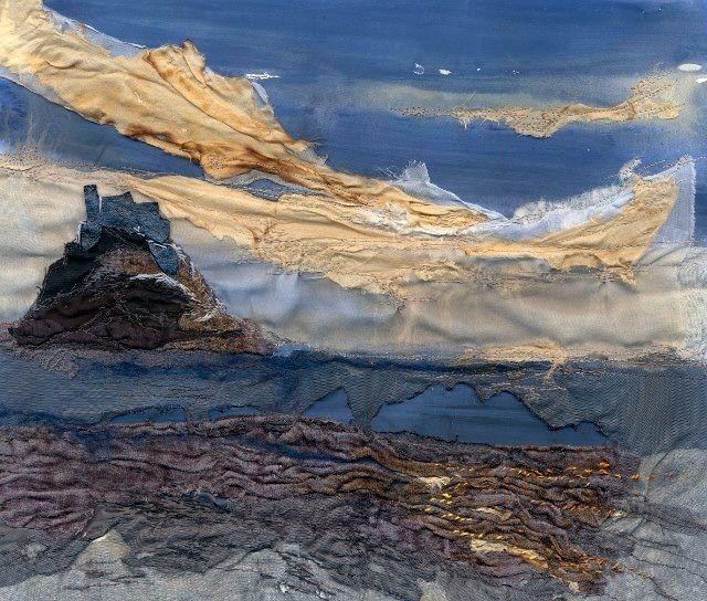 Lindisfarne Sunset - Laura Edgar