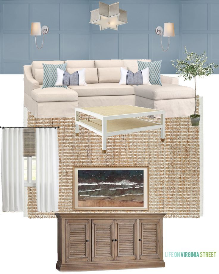Why We Ordered A Pottery Barn Sectional Life On Virginia Street Pottery Barn Sectional Rugs In Living Room Linen Sectional #pottery #barn #living #room #rugs