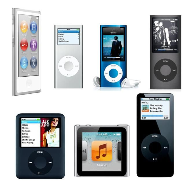 The History of the iPod nano and All Its Models