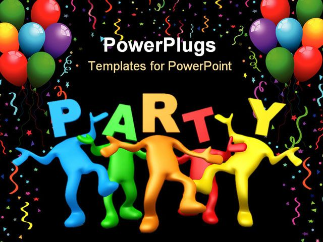 Party Powerpoint Template Party Powerpoint Template Party