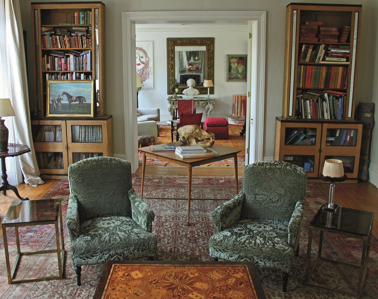 Christopher hodsoll antique dealer and interior designer for Well known interior designers