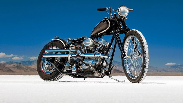 Bobber Cafe Racer Harley Davidson Hd Wallpaper 1080p: HD Panhead. [Desktop Wallpaper 1600x900]
