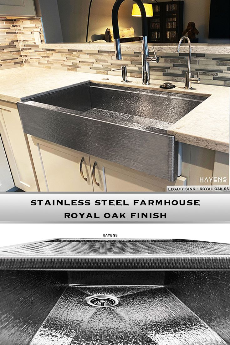 Legacy Farmhouse Sink Royal Oak Stainless In 2020 Stainless