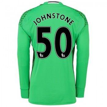 Manchester United 16-17 Målvakt Sam Johnstone 50 Hemmatröja Långärmad  #Fotbollströjor