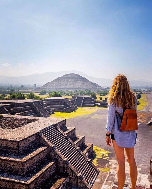 Pyramid of the Moon Location: Teotihuacan Mexico Photo: @calsnape #watchthisinstagood by instagood https://www.instagram.com/p/BBDFGb_nGIw/ #Flickr via https://instagram.com/hotelspaschers