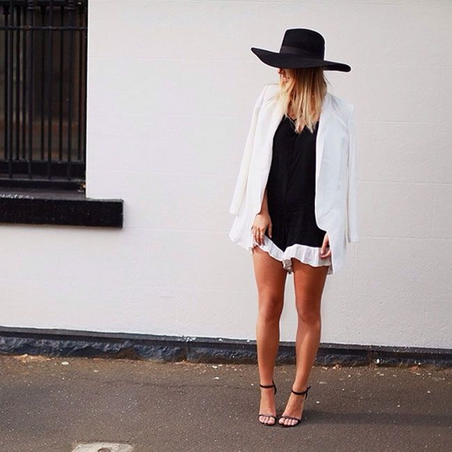 Flahing Lights Playsuit as worn by See, Want, Shop