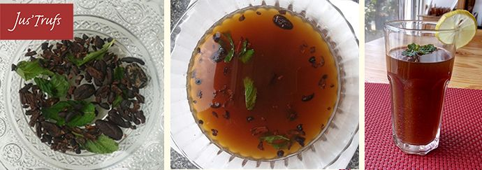One of the most refreshing & healthy drinks on our menu! #CocoaNibsMintTea #newblog #minttea http://www.justrufs.com/shop/blog/cocoa-nibs-infused-mint-tea/