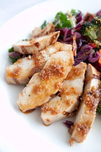 Sesame Ginger Chicken Stir Fry