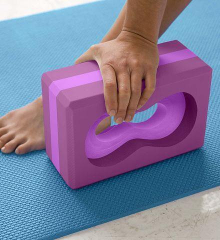 All Grip Yoga Block | Yoga Brick - Gaiam