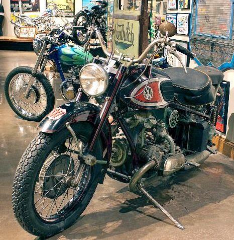 Von Dutch Motorcycle Xavw