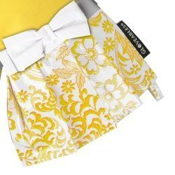 Gloveables® Yellow Gloves with Yellow Lace Pattern by Grandway Honduras. $13.99. Gloveables® waterproof gloves are unlike any ordinary kitchen glove you've ever tried. The perfect way to protect your hands while still being fashionable and comfortable. Gloveables® brand gloves are ideal for cleaning, dish washing,gardening, and anything else that could spoil your manicure. Protects hands from hot water, chemicals and dirt. Ruffled fringe adds extra protection from spla...