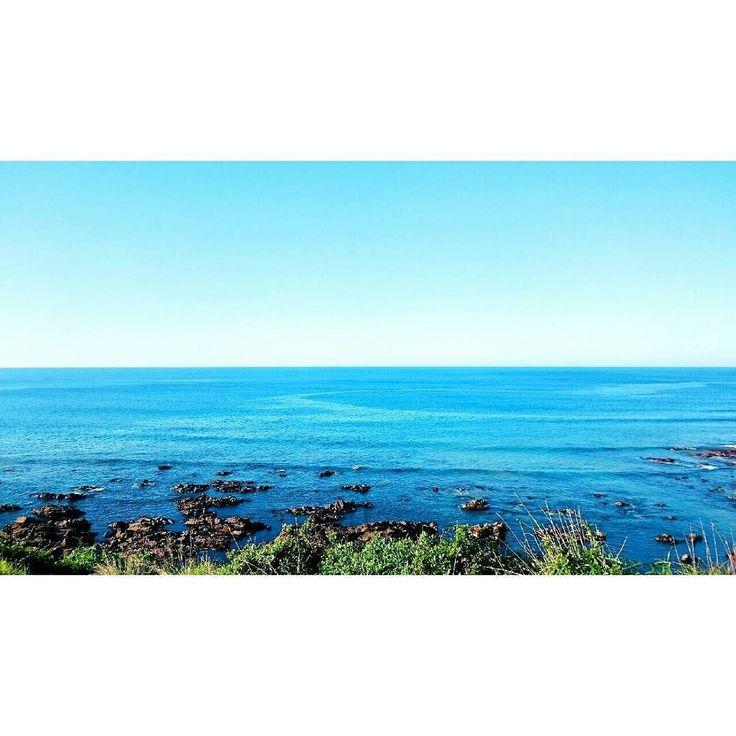 #sea #bluesky #melbourne #greatoceanroad #海 #青空 #メルボルン #グレートオーシャンロード #xperiaz3 by melulu15