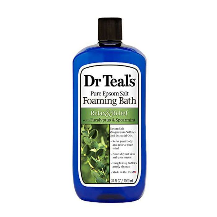 Rank & Style - Dr. Teals Foaming Eucalyptus Spearmint Epsom Salt Bath #rankandstyle