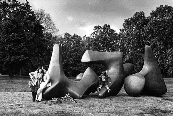 Credit: Jane Bown 1972: In order to protect his estate from death duties, Moore set up the Henry Moore Trust with the help ...
