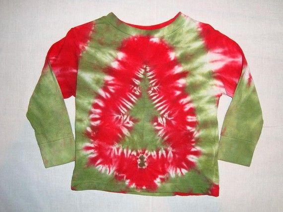 tie dye christmas tree - photo #9