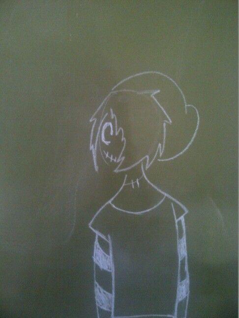 Blackboard chalk art 。