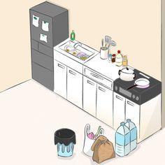 このようなキッチンになっていませんか?