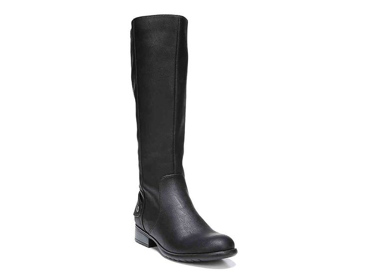 Xandy Riding Boot Color: black Size: 7.5