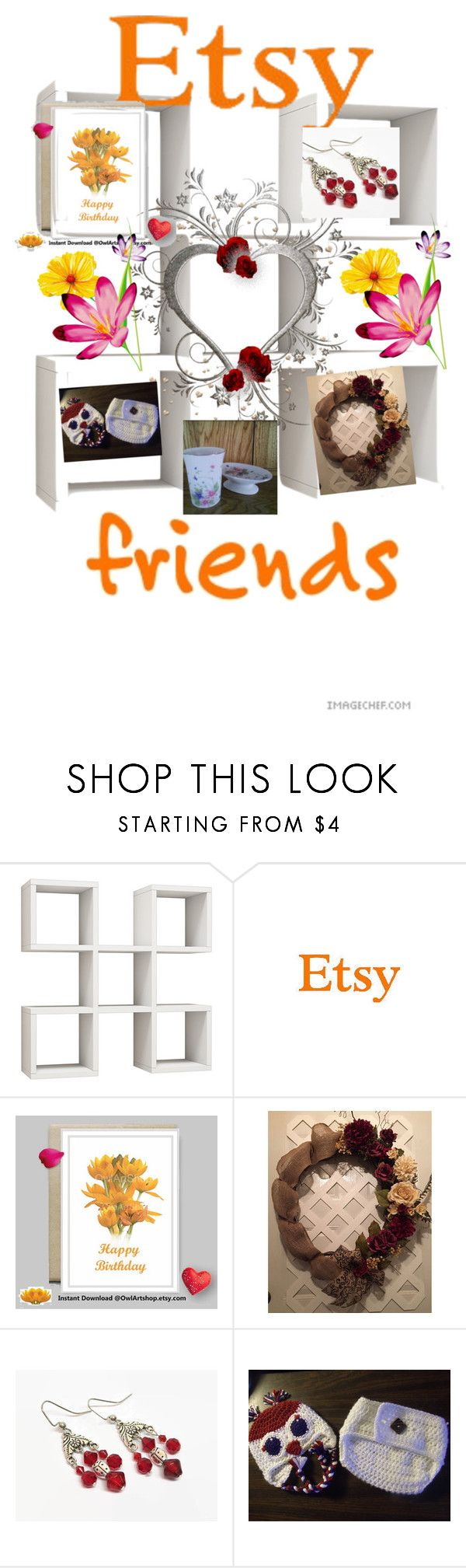 Etsy Friends by elsiescreativedesign on Polyvore featuring interior, interiors, interior design, home, home decor, interior decorating, giftforher, EtsySpecialT, EtsyTeamUnity and etsychaching