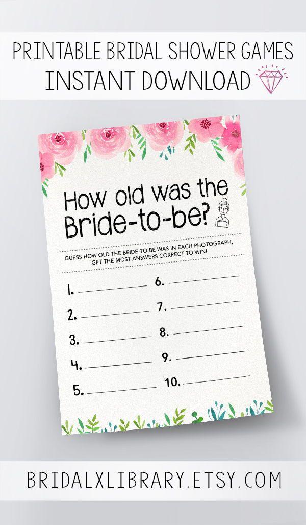Was How The Instant Shower GamesDigital Old Bride BeBridal To srdQthxC