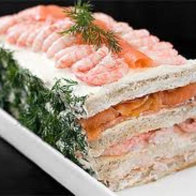 Smörgåstårta Swedish