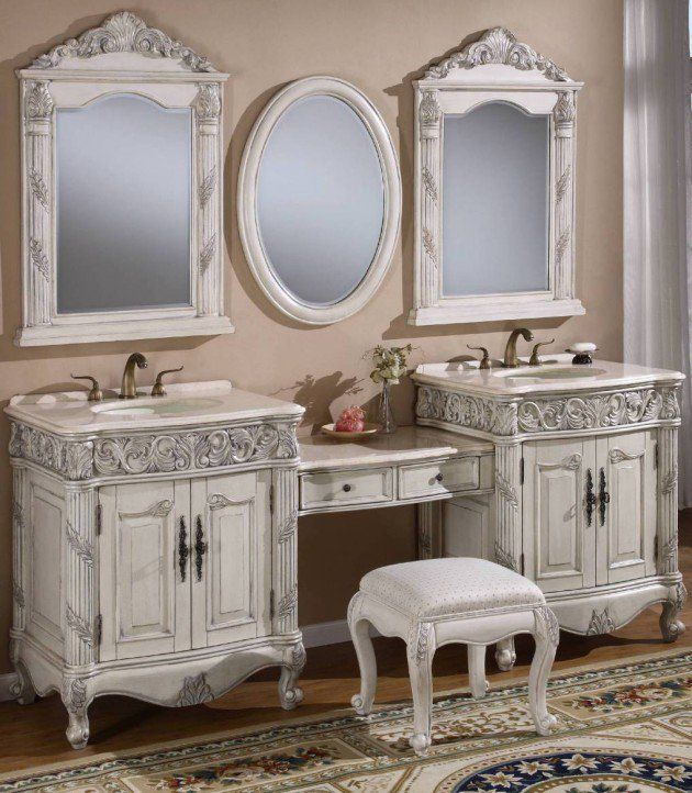 33+ Vintage bathroom vanity ideas diy