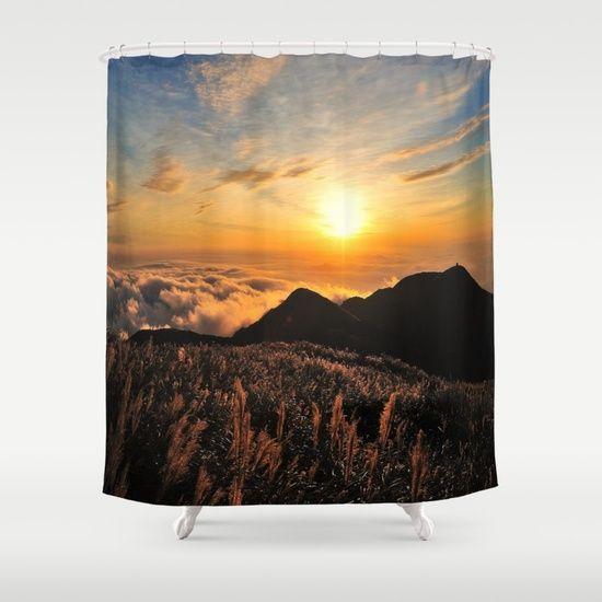 sunrises Shower Curtain