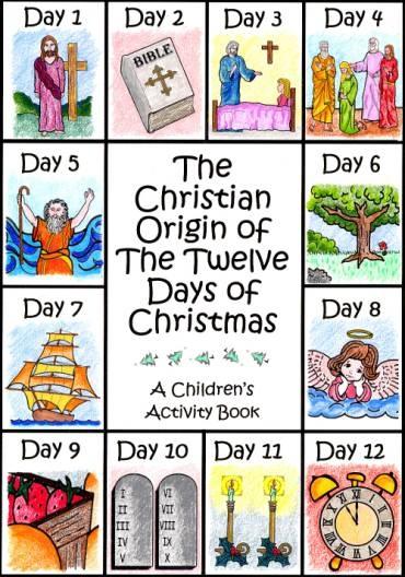 113 Best Twelve Days Of Christmas Images On Pinterest Christmas