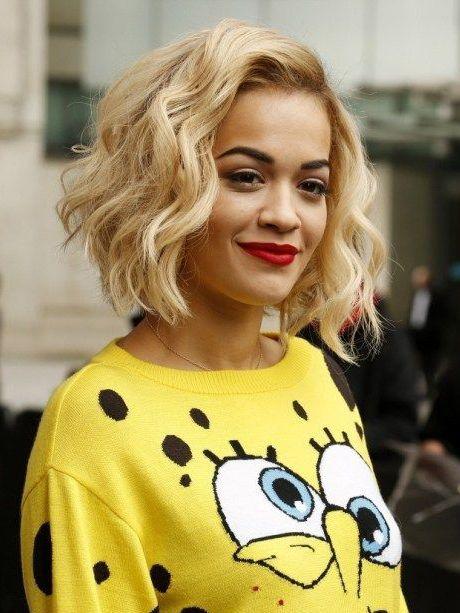 Le Wob Platine De Rita Ora Le Wob La Nouvelle Coiffure