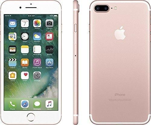 Apple iPhone 7 Plus 32GB Factory Unlocked GSM Smartphone - Rose Gold (Certified Refurbished)