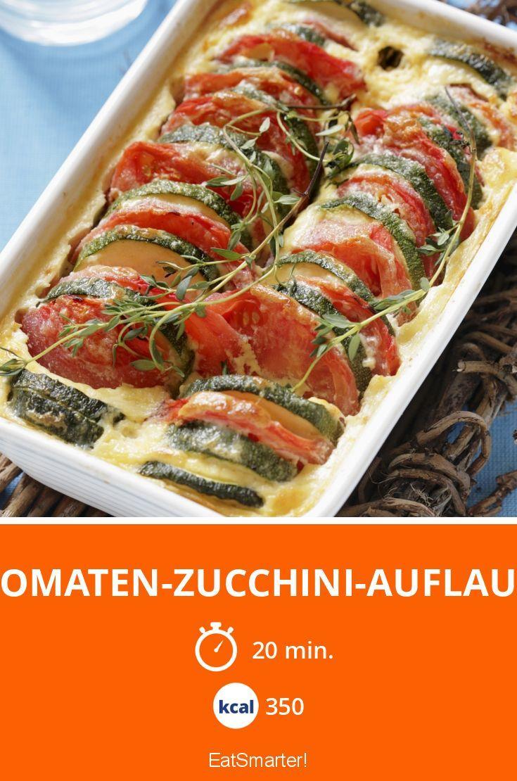 Tomaten-Zucchini-Auflauf - smarter - Kalorien: 350 Kcal - Zeit: 20 Min. | eatsmarter.de